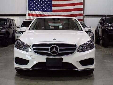 2015 Mercedes-Benz E-Class for sale at Texas Motor Sport in Houston TX