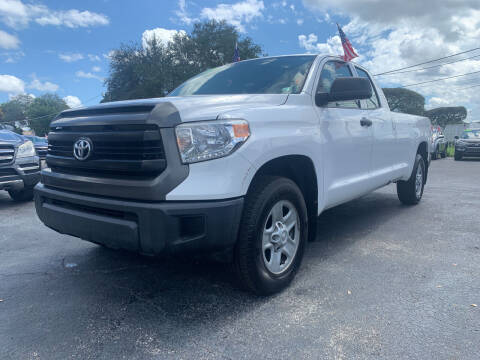 2017 Toyota Tundra for sale at Bargain Auto Sales in West Palm Beach FL