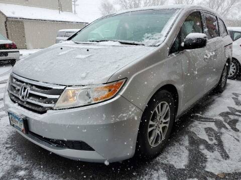 2012 Honda Odyssey for sale at MIDWEST CAR SEARCH in Fridley MN