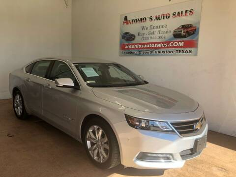 2019 Chevrolet Impala for sale at Antonio's Auto Sales in South Houston TX