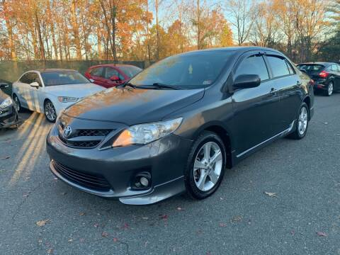 2012 Toyota Corolla for sale at Dream Auto Group in Dumfries VA