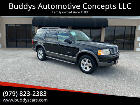 2004 Ford Explorer for sale at Buddys Automotive Concepts LLC in Bryan TX