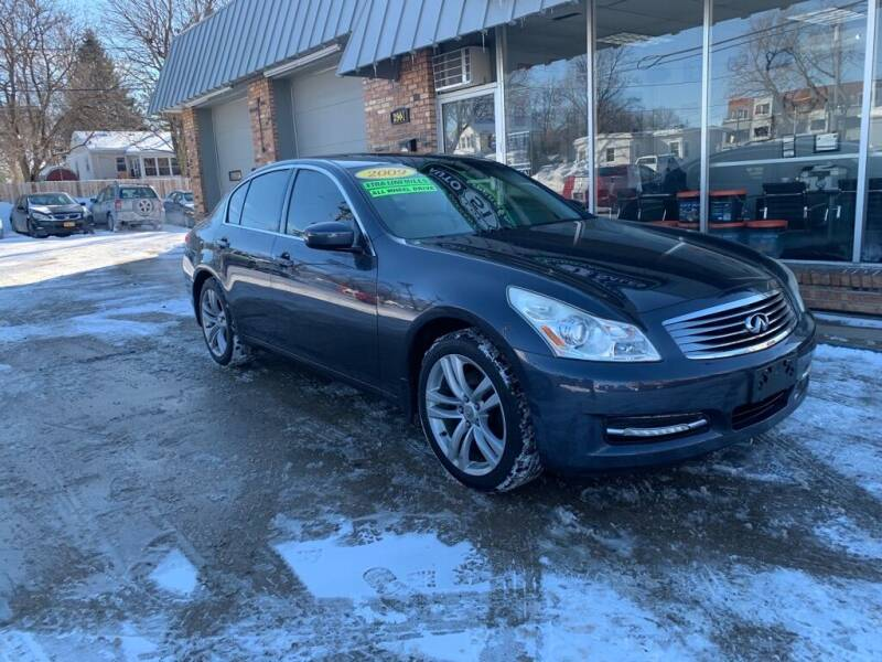 2009 Infiniti G37 Sedan for sale at LOT 51 AUTO SALES in Madison WI