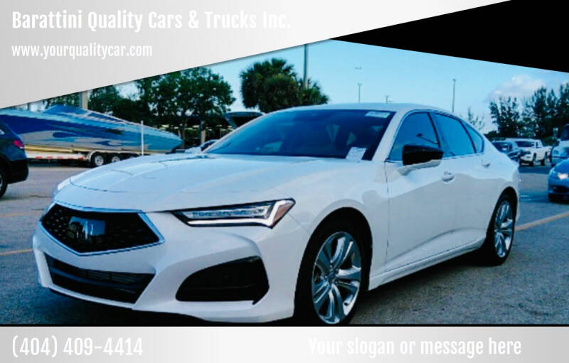 2021 Acura TLX for sale in Snellville, GA