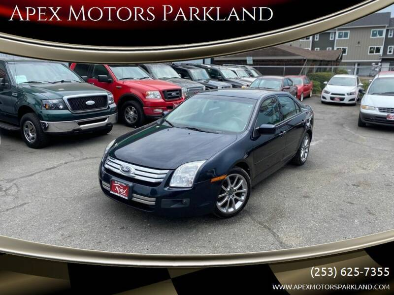 2009 Ford Fusion for sale at Apex Motors Parkland in Tacoma WA