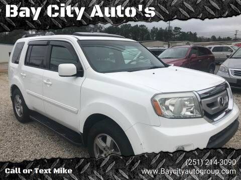 2010 Honda Pilot for sale at Bay City Auto's in Mobile AL
