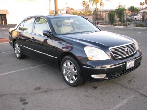 2001 Lexus LS 430 for sale at M&N Auto Service & Sales in El Cajon CA