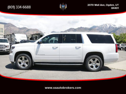 2018 Chevrolet Suburban for sale at S S Auto Brokers in Ogden UT
