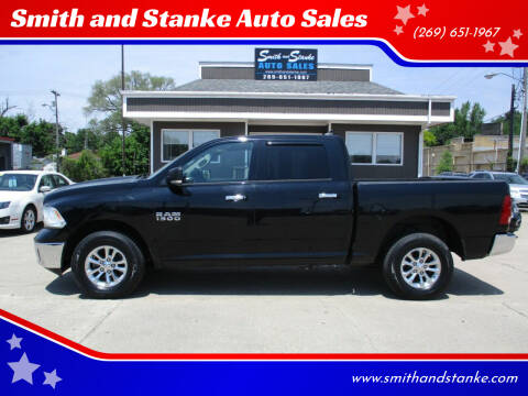 2013 RAM Ram Pickup 1500 for sale at Smith and Stanke Auto Sales in Sturgis MI