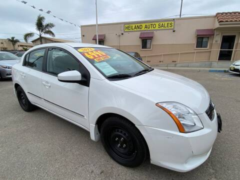 2012 Nissan Sentra for sale at HEILAND AUTO SALES in Oceano CA