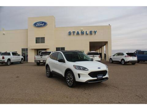 2020 Ford Escape Hybrid for sale at STANLEY FORD ANDREWS in Andrews TX