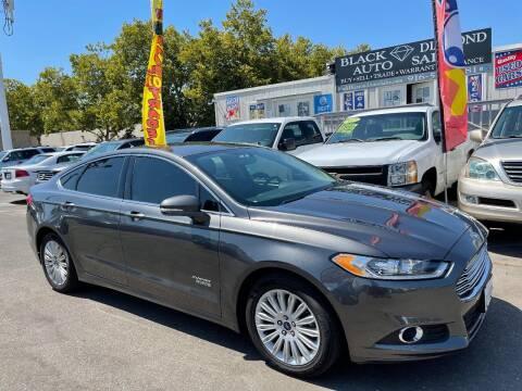 2016 Ford Fusion Energi for sale at Black Diamond Auto Sales Inc. in Rancho Cordova CA