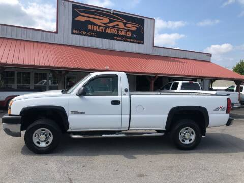 2004 Chevrolet Silverado 2500HD for sale at Ridley Auto Sales, Inc. in White Pine TN