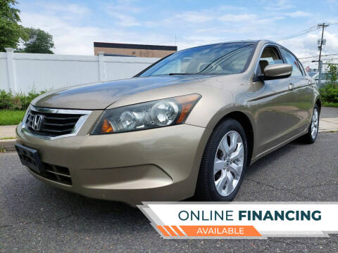 2008 Honda Accord for sale at New Jersey Auto Wholesale Outlet in Union Beach NJ