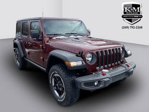 2021 Jeep Wrangler Unlimited for sale at K&M Wayland Chrysler  Dodge Jeep Ram in Wayland MI
