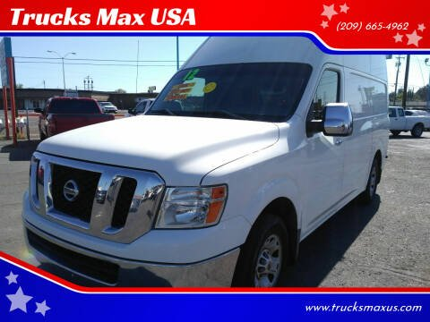 2012 Nissan NV Cargo for sale at Trucks Max USA in Manteca CA