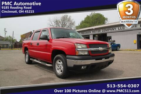 2006 Chevrolet Avalanche for sale at PMC Automotive in Cincinnati OH