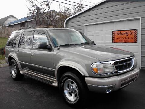 2000 Ford Explorer for sale at Marty's Auto Sales in Lenoir City TN