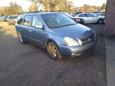 2007 Kia Sedona for sale at Continental Auto Sales in White Bear Lake MN