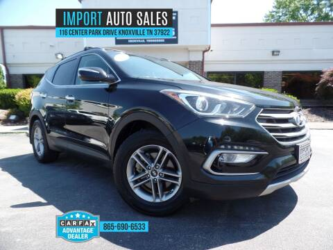 2018 Hyundai Santa Fe Sport for sale at IMPORT AUTO SALES in Knoxville TN