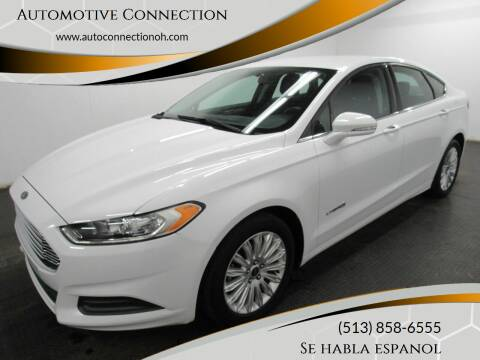 2013 Ford Fusion Hybrid for sale at Automotive Connection in Fairfield OH