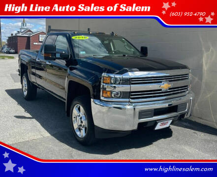 2018 Chevrolet Silverado 2500HD for sale at High Line Auto Sales of Salem in Salem NH