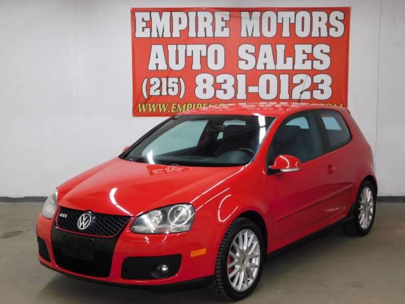 2006 Volkswagen GTI for sale at EMPIRE MOTORS AUTO SALES in Philadelphia PA