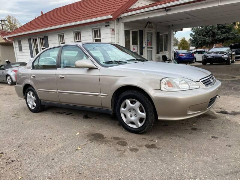 2000 Honda Civic EX 4dr Sedan - Denver CO