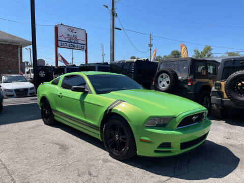 2013 Ford Mustang for sale at Pulse Autos Inc in Indianapolis IN