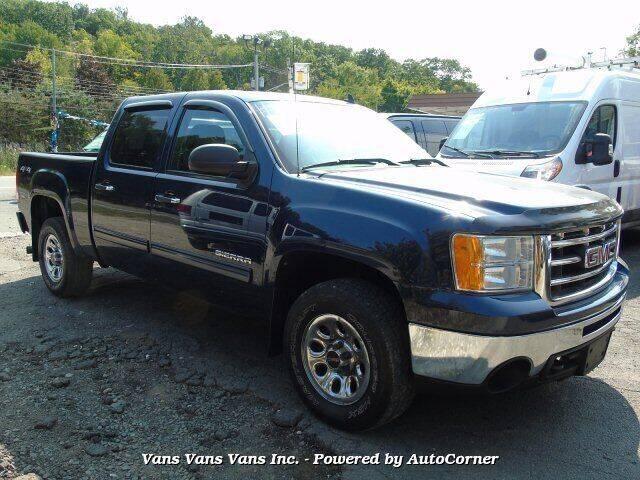 2012 GMC Sierra 1500 for sale at Vans Vans Vans INC in Blauvelt NY