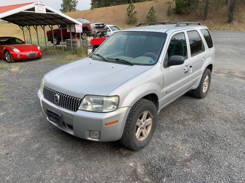 2006 Mercury Mariner Hybrid for sale at CARLSON'S USED CARS in Troy ID