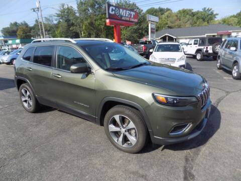 2019 Jeep Cherokee for sale at Comet Auto Sales in Manchester NH