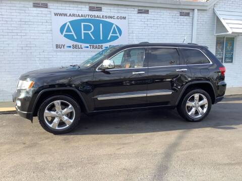 2012 Jeep Grand Cherokee for sale at ARIA  AUTO  SALES in Raleigh NC