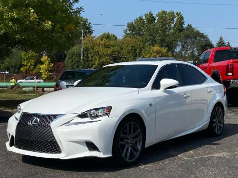 2014 Lexus IS 250 for sale at North Imports LLC in Burnsville MN