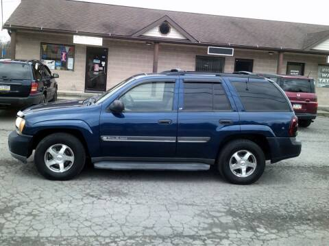 2002 Chevrolet TrailBlazer for sale at On The Road Again Auto Sales in Lake Ariel PA