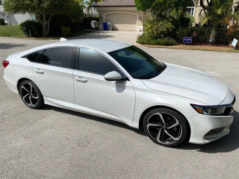 2019 Honda Accord Sport 4dr Sedan (1.5T I4 CVT) - Pompano Beach FL