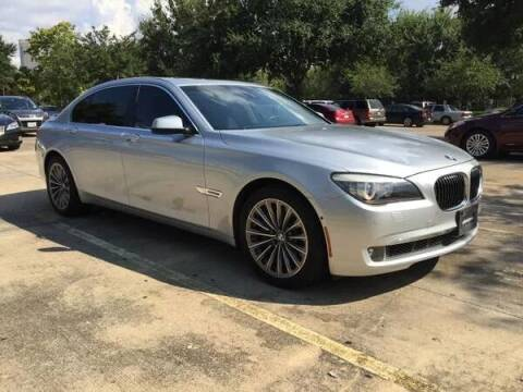 2011 BMW 7 Series for sale at Mid-Town Auto in Houston TX