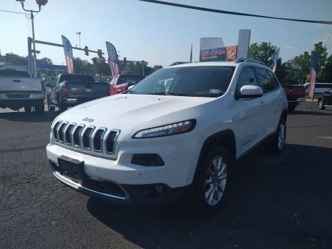 2014 Jeep Cherokee for sale at P J McCafferty Inc in Langhorne PA