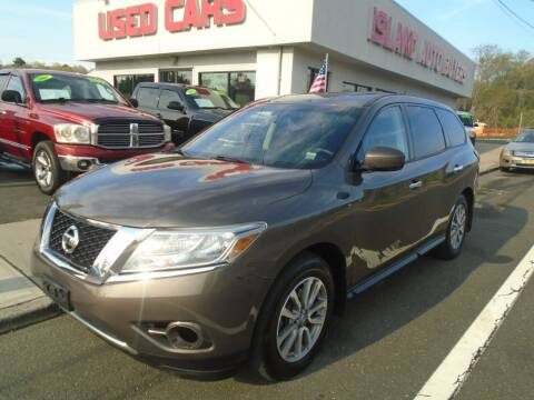 2015 Nissan Pathfinder for sale at Island Auto Buyers in West Babylon NY