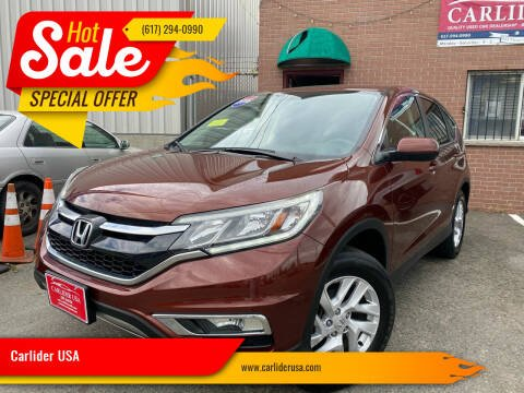2016 Honda CR-V for sale at Carlider USA in Everett MA