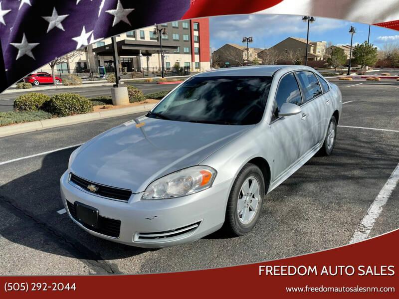 2009 Chevrolet Impala for sale at Freedom Auto Sales in Albuquerque NM