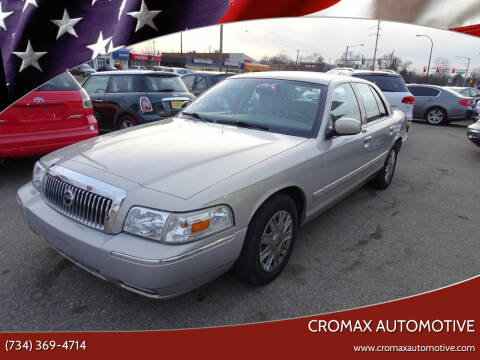 2007 Mercury Grand Marquis for sale at Cromax Automotive in Ann Arbor MI