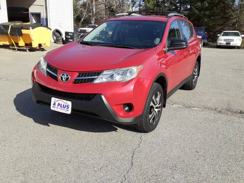 2013 Toyota RAV4 for sale at A-Plus Motors in Alton ME