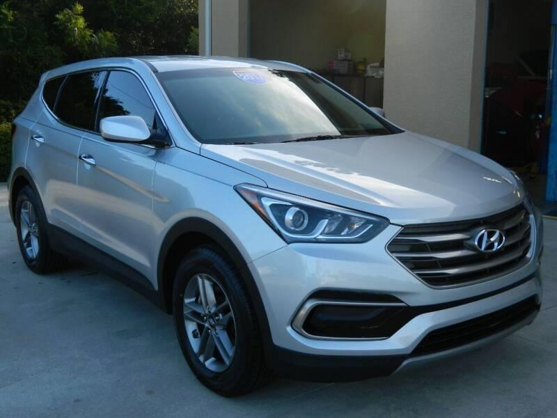 2017 Hyundai Santa Fe Sport for sale at Jeff's Auto Sales & Service in Port Charlotte FL