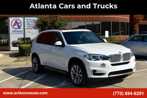 2018 BMW X5 for sale at Atlanta Cars and Trucks in Kennesaw GA