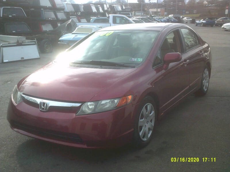2006 Honda Civic for sale at M & M Inc. of York in York PA