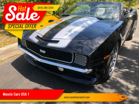 2010 Chevrolet Camaro for sale at Muscle Cars USA 1 in Murrells Inlet SC