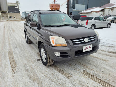 2006 Kia Sportage for sale at J & S Auto Sales in Thompson ND