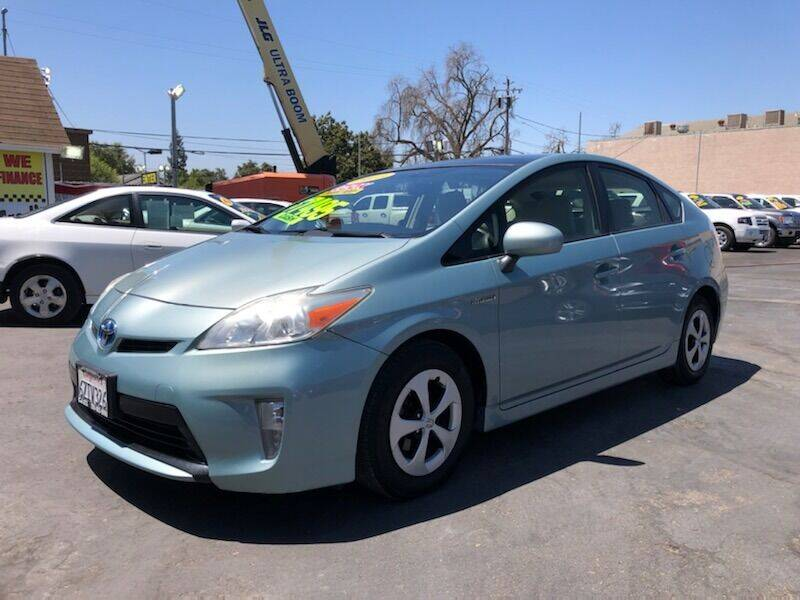 2013 Toyota Prius for sale at C J Auto Sales in Riverbank CA