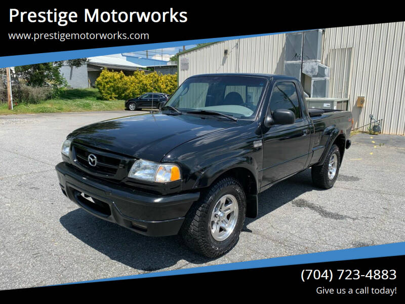 2002 Mazda Truck for sale at Prestige Motorworks in Concord NC